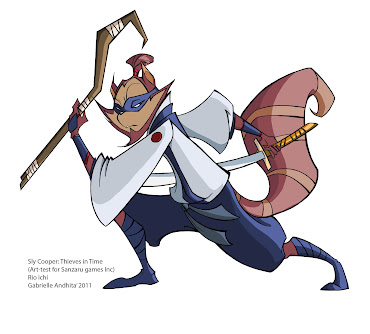 #43 Sly Cooper Wallpaper