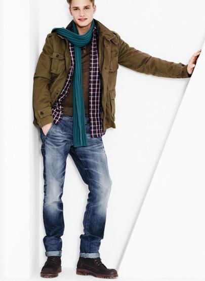 Benetton moda hombre