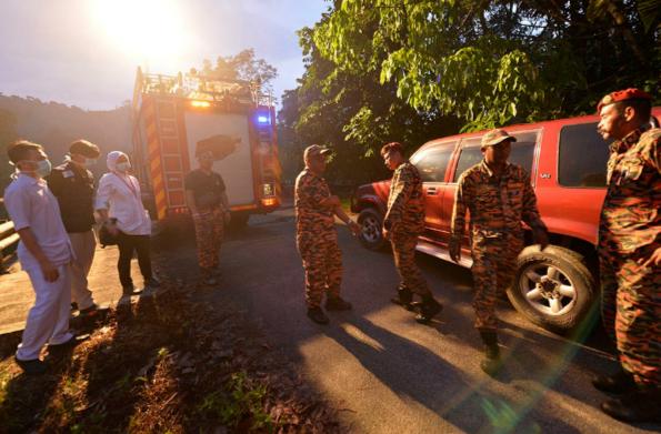 Kemalangan helikopter di Semenyih 2015
