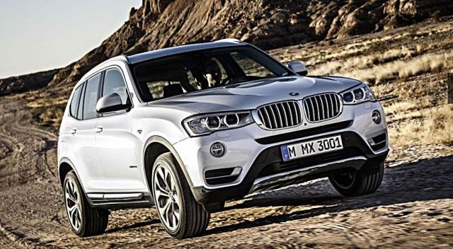2017 BMW X3 hybrid drivetrain and an M3-sourced straight-six