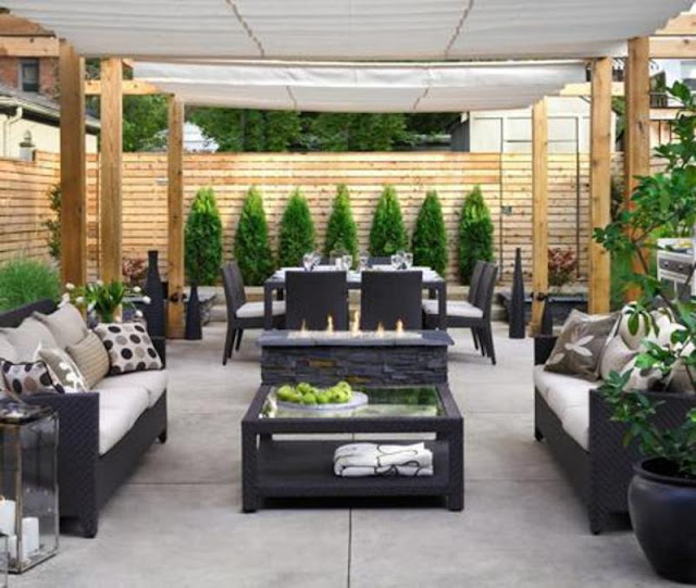 Wonderful Modern Patio Design