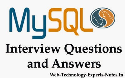 MySQL interview Questions and Answers For Experienced