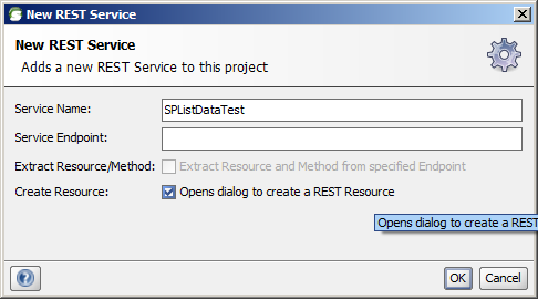 Rest resource
