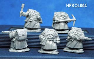 Hasslefree Miniatures Kolektiv Dwarves Specialists