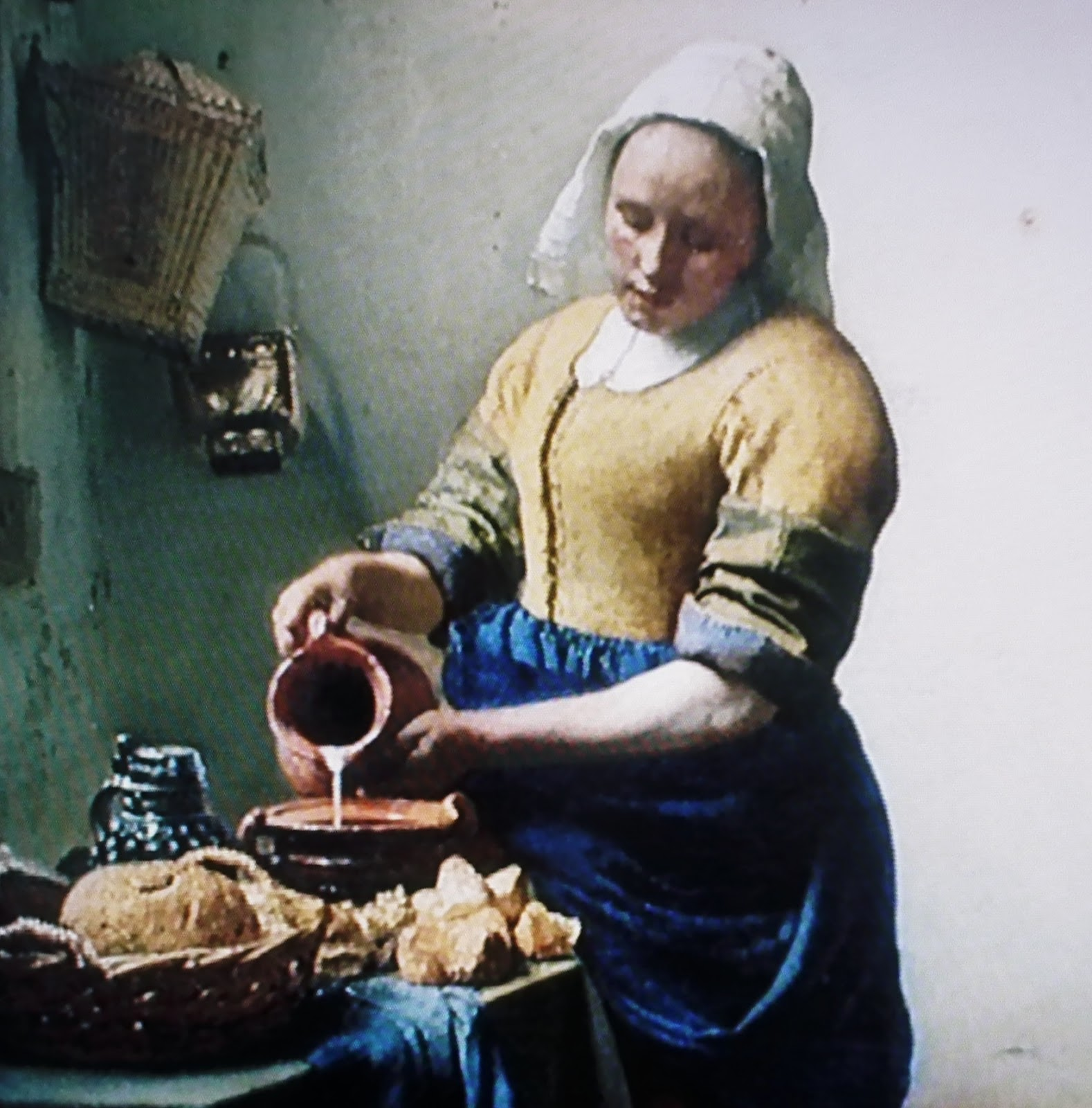 """The Things I Enjoy: Vermeer´s """"The Kitchen Maid"""" in ..."""