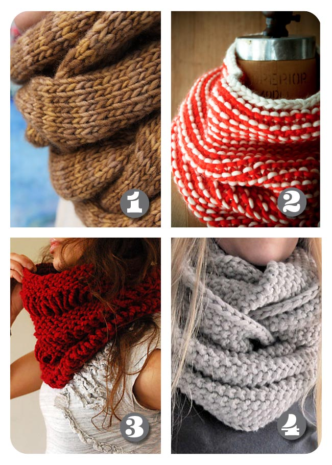 Free Knit Cowl Pattern : Lula Louise: Roundup - Free Knitted Cowl Patterns
