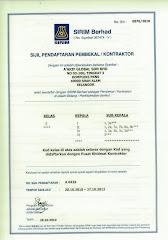 SIRIM BERHAD (KELAS E)