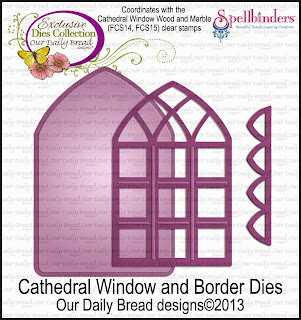Our Daily Bread Designs Custom Cathedral Window and Border Dies