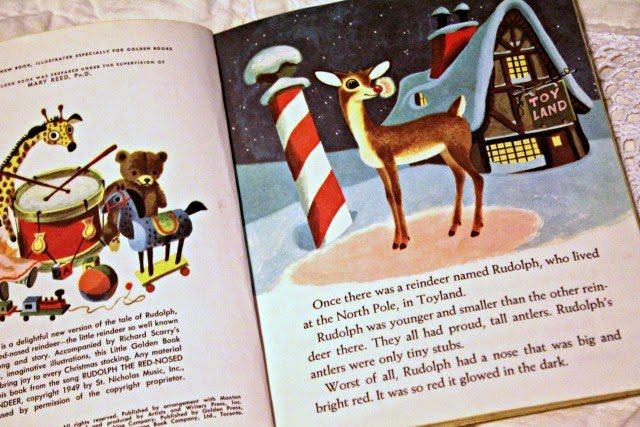 golden books rudolph the red nosed reindeer