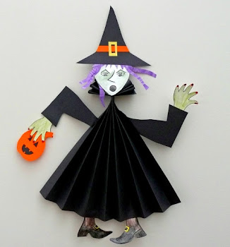 Paper Fold Witch