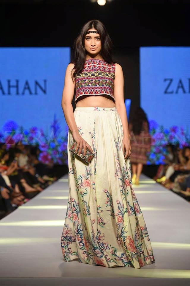Zara Shahjahan TPFW 2015 beautiful summer dresses