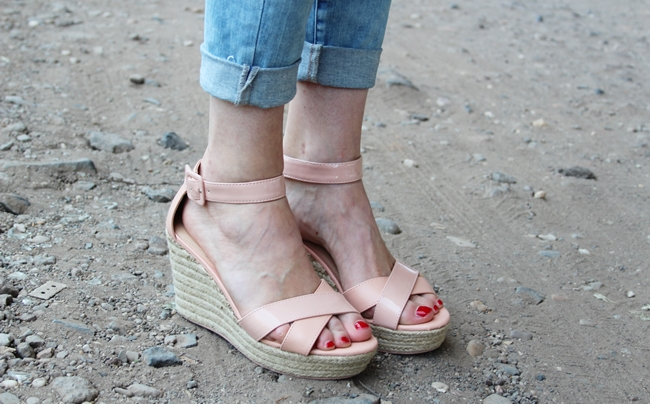Nudge Wedges, Summer Wedges, Nude Look, Modeblog Köln