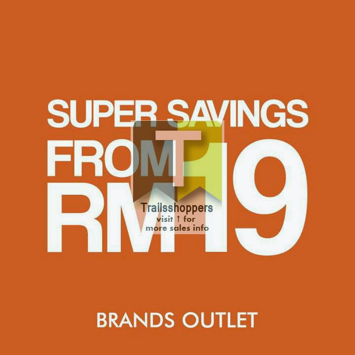 Brands Outlet's ioi mall sale puchong