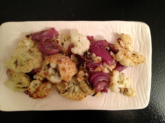 Recipe: Oven roasted cauliflower