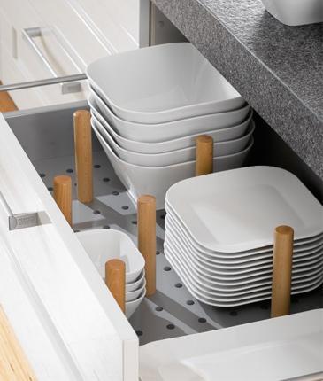 Decoracion cocina en orden for Ikea organizador cajones cocina