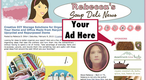 Win a One Month Feature Ad Spot on Soap Deli News Blog