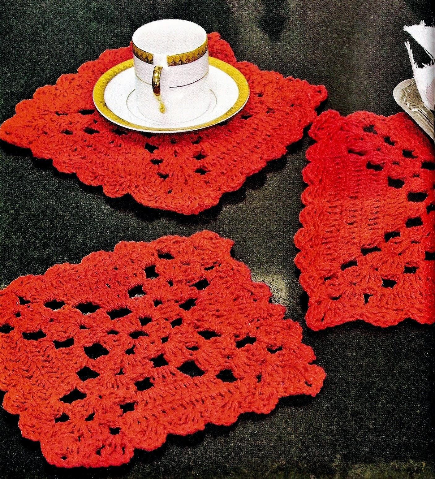 mesa em croche decoração em croche com receita