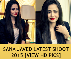Sana Javed Latest Shoot