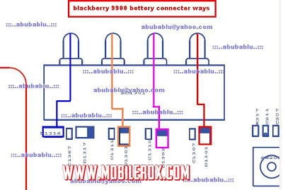 Blackberry 9900 Dead phone Battery jumper