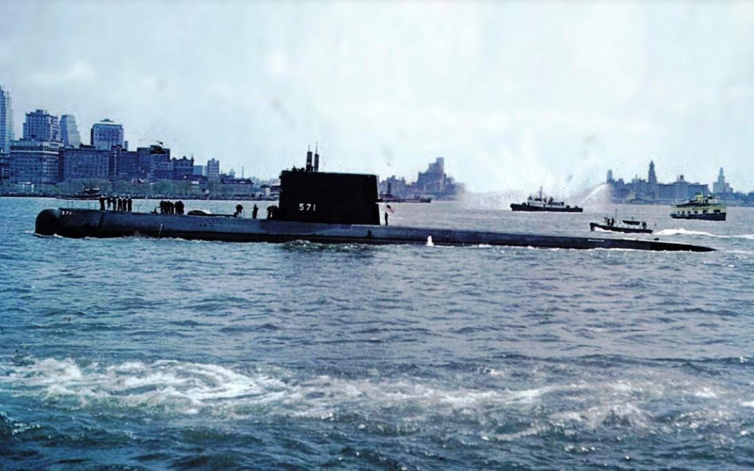 атомная подводная лодка nautilus