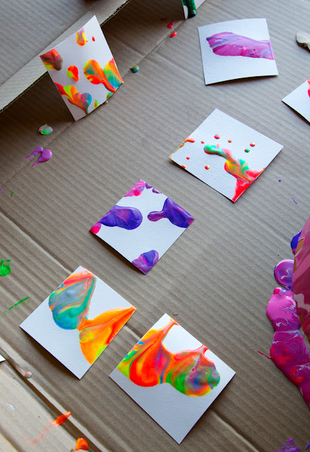 Holly 39 s arts and crafts corner craft project pour paint for Cool fun projects