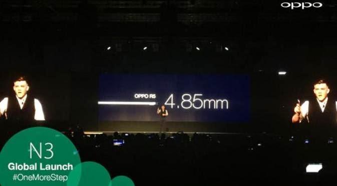 Oppo R5 : Smartphone Tertipis di Dunia