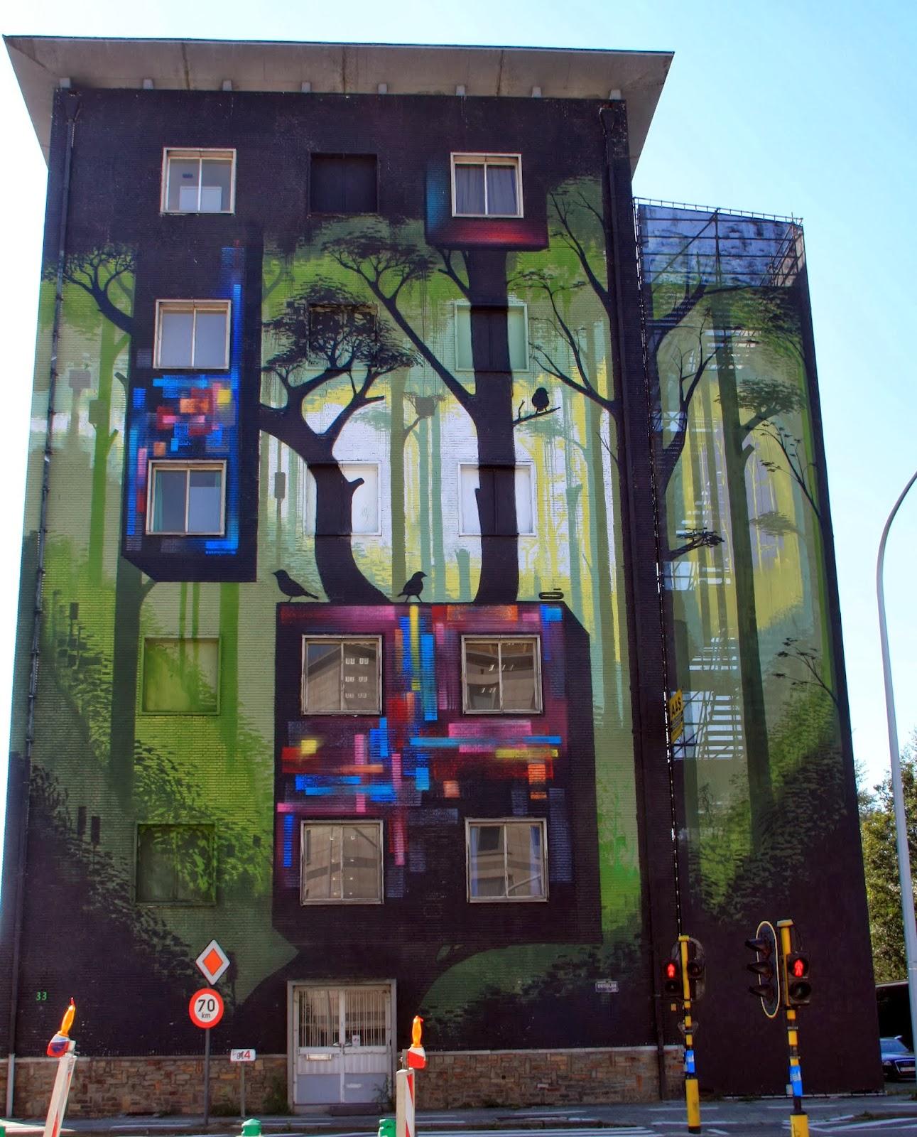 Street Art Antwerp Belgium