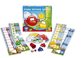insey winsey spider game instructions