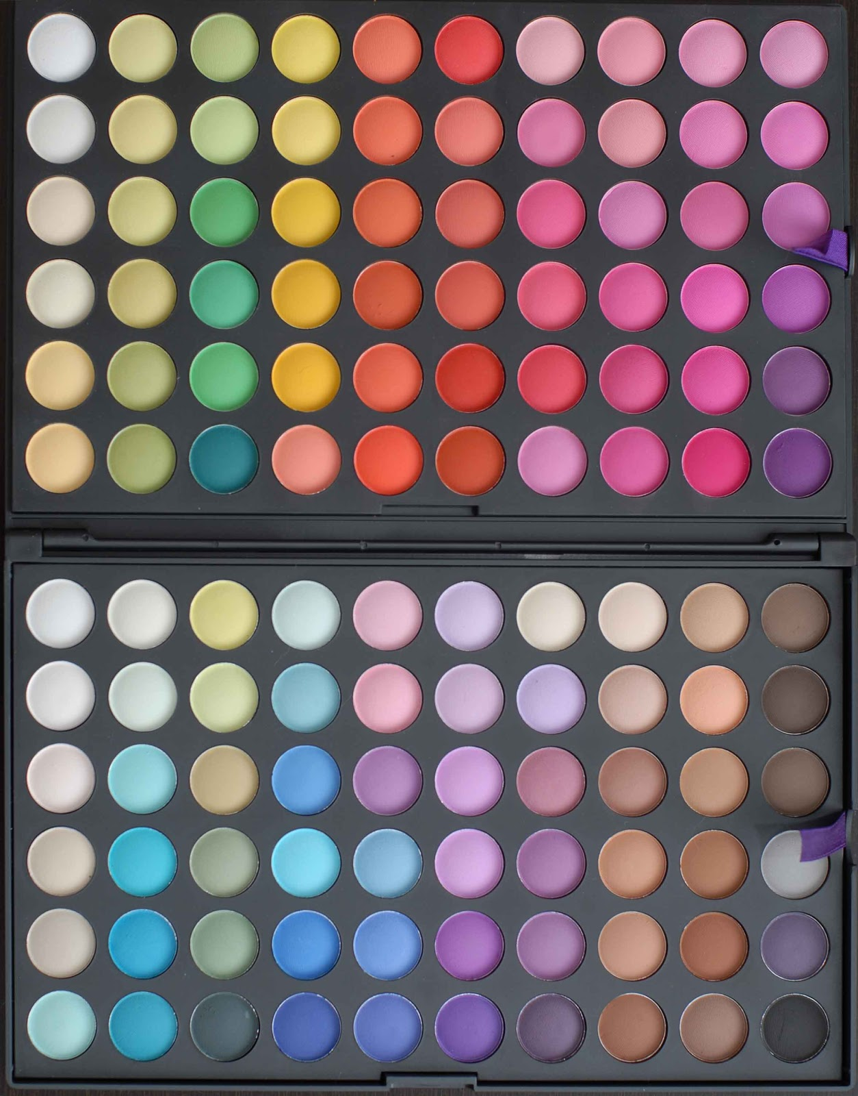 trusa farduri profesionale 120 culori mate