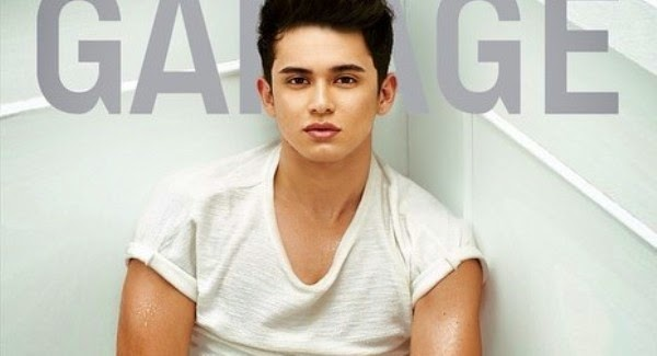 James Reid graces Garage mag cover October 2014 issue