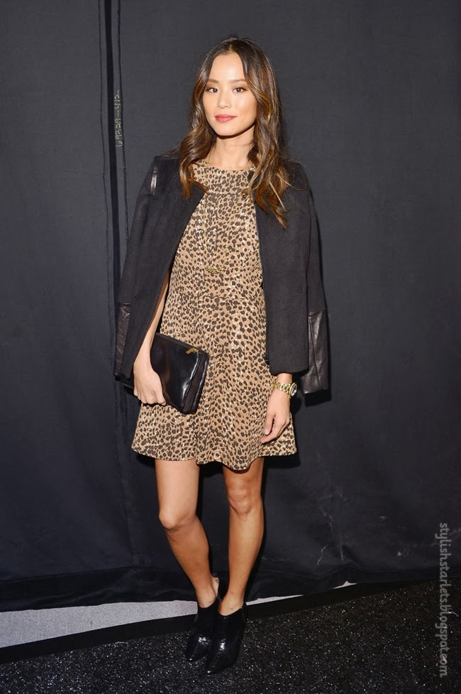 Jamie Chung At Fashion Week
