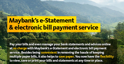 Maybank e-Statement Contest