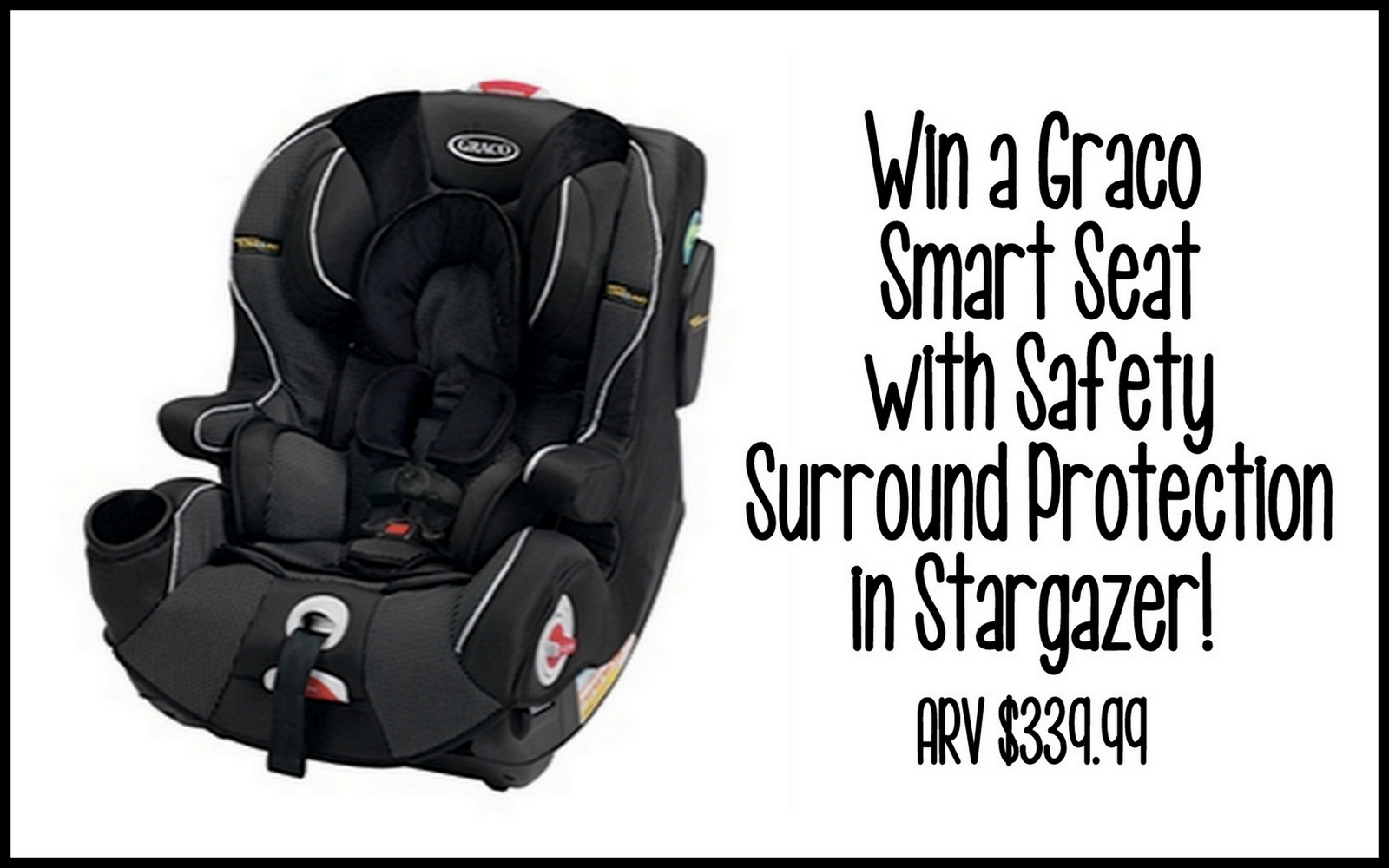 graco smart seat with safety surround protection car seat giveaway miss frugal mommy. Black Bedroom Furniture Sets. Home Design Ideas