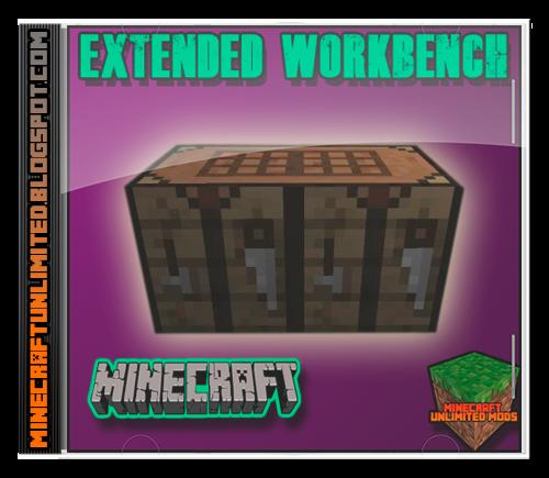 Extended Workbench Mod Minecraft