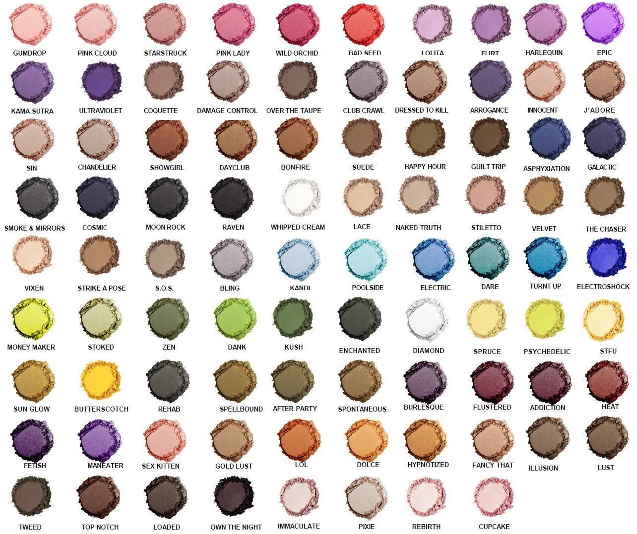 Nyx Hot Single Eye Shadow Colors Pick Any