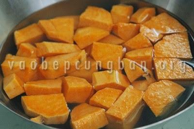 Cách nấu chè ngô khoai lang 1