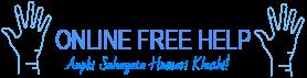 Online Free Help! - Aapki Sahayata Hamari Kushi