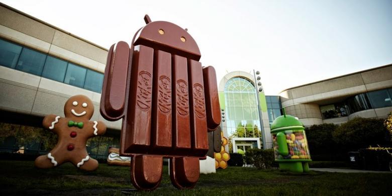 Kisah Seru Munculnya KitKat, Android 4.4