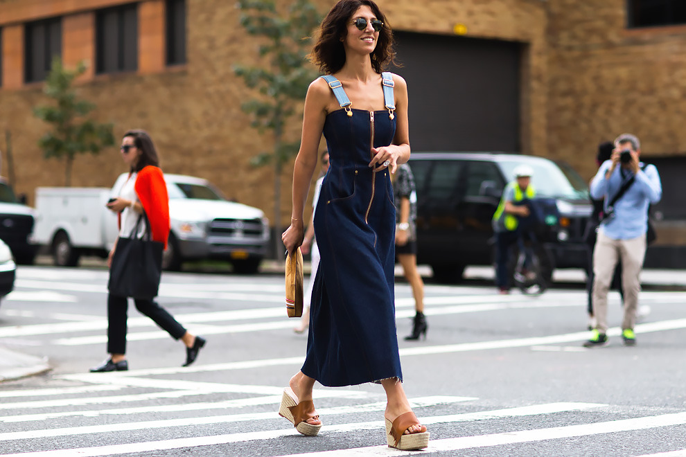 New York Fashion Week Spring Summer 16 Street Style I Front Row