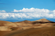 Great Sand Dunes National Park and Preserve in the San Luis Valley of Colorado