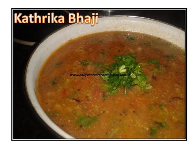 Kathrika Bhajji