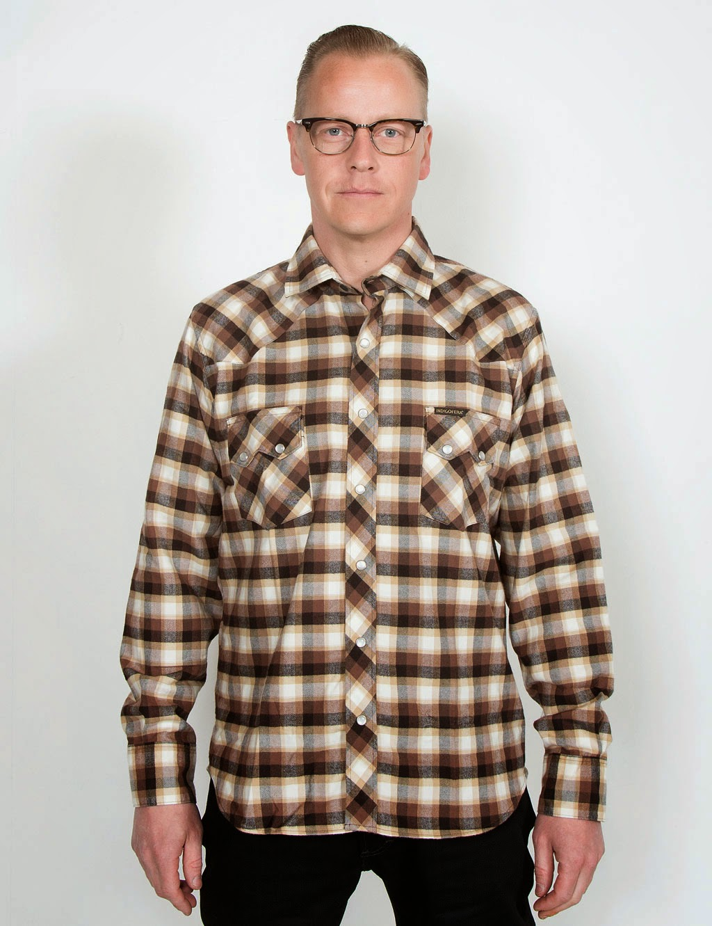 http://www.hepcat.se/departments/indigofera-dollard-shirt-checked-brownblack