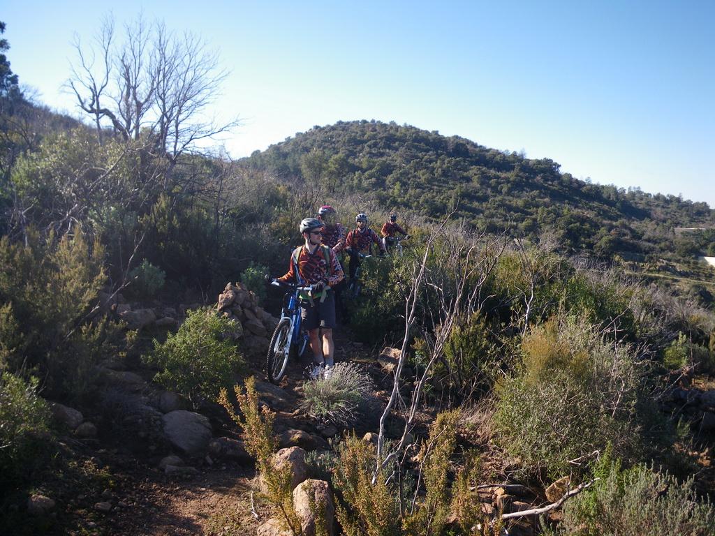 Muddy 39 s bikers f vrier 2011 - Montee trap ...