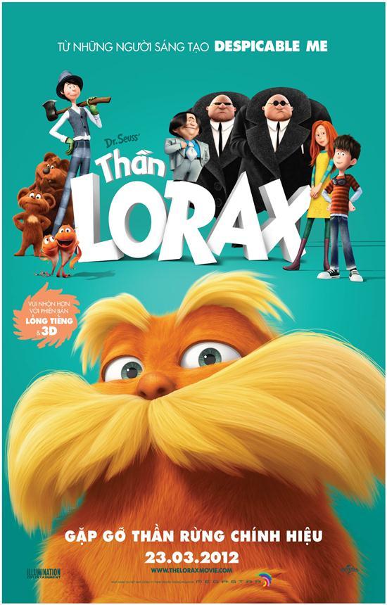Phim Thần Rừng Lorax - Dr. Seuss' The Lorax