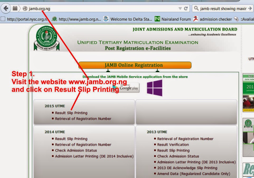 JAMB CBT RESULT -You Have Exceeded Maximum Number of Checks, Just ...