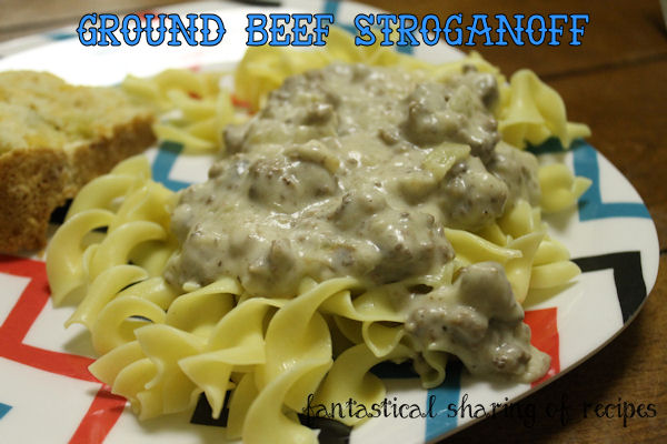 Ground Beef Stroganoff - probably the very best stroganoff you'll ever have #recipe #pasta