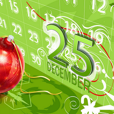 25. december, Christmas download free wallpapers for Apple iPad