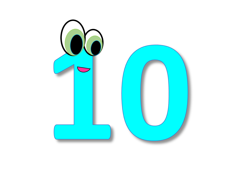 Numbers Cliparts Number 10 Clipart