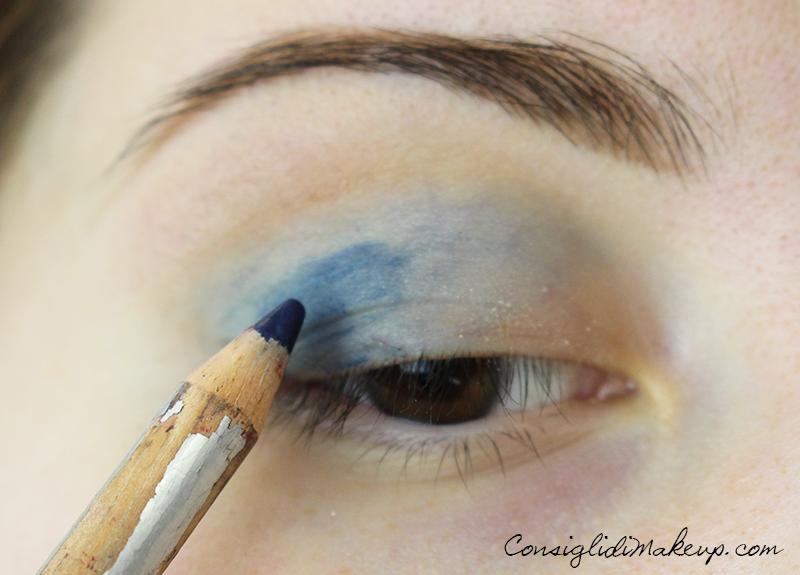 Iggyazalea trucco blu e caramello