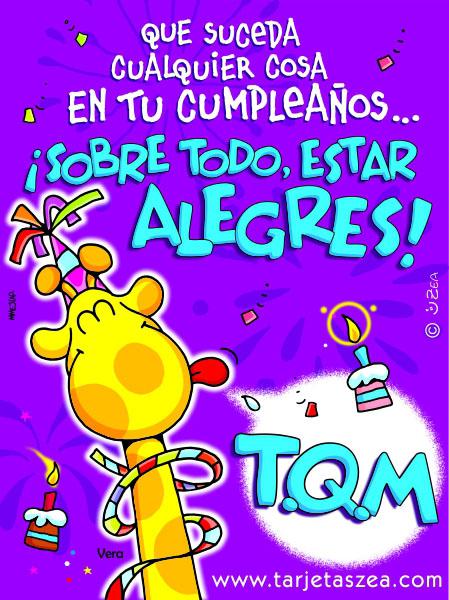 hoy es tu cumpleaños